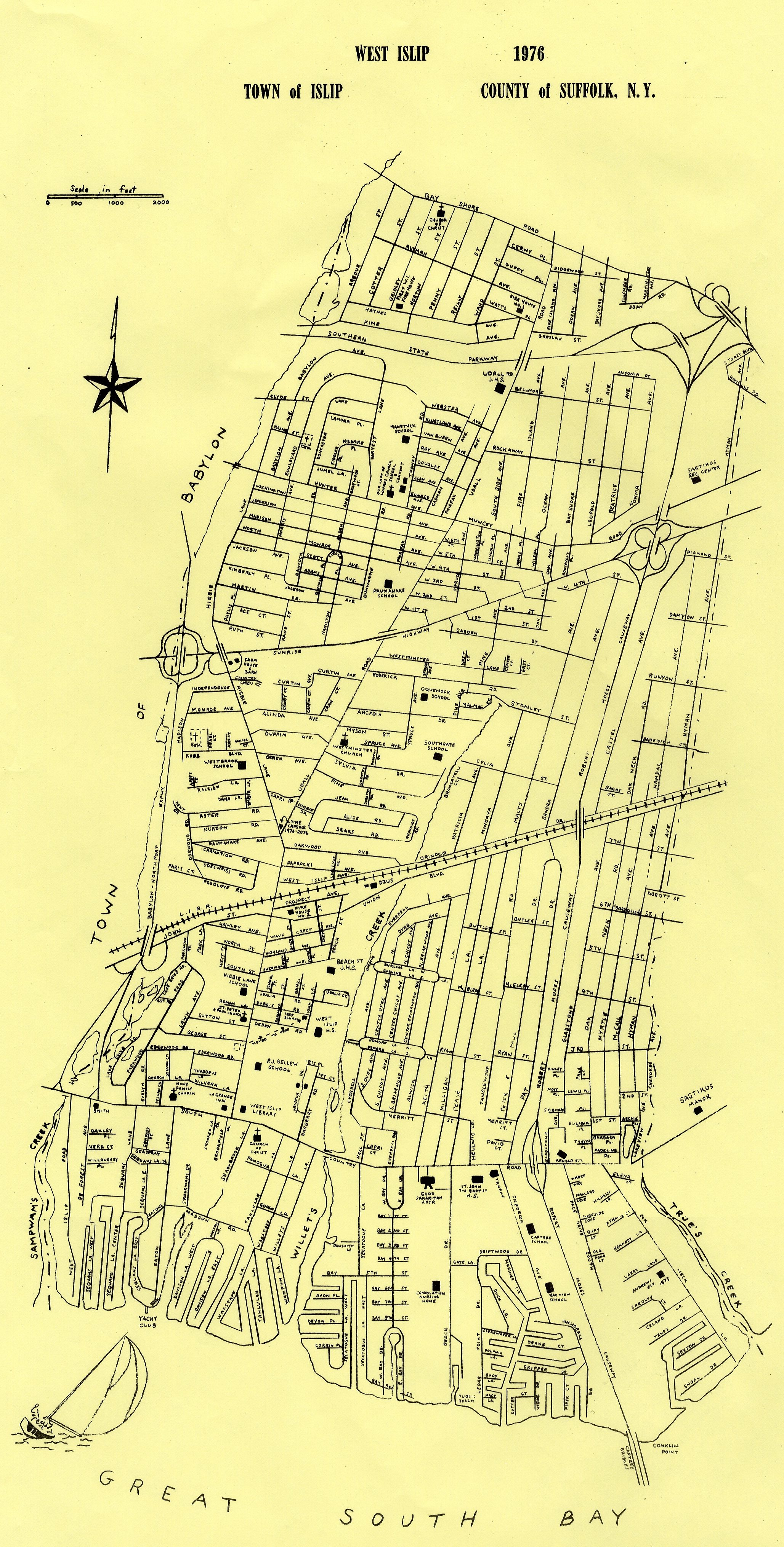 Map Collection West Islip Historical Society